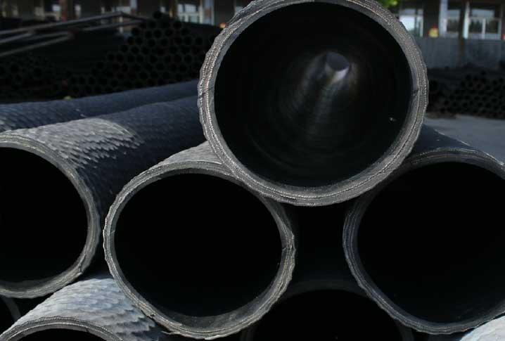 大口径吸水橡胶钢丝管