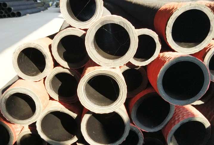 红头吸沙橡胶钢丝管